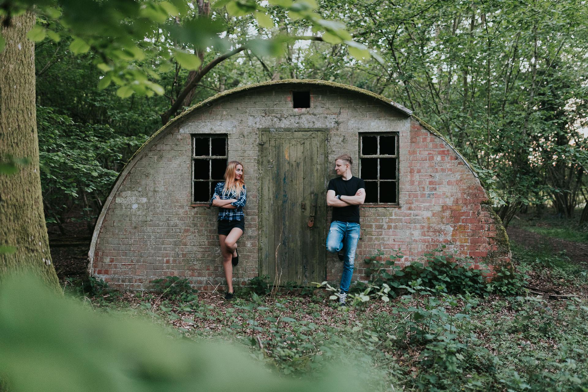 Arleta Pawel Engagement Photoshoot TreeRunners Andover 78