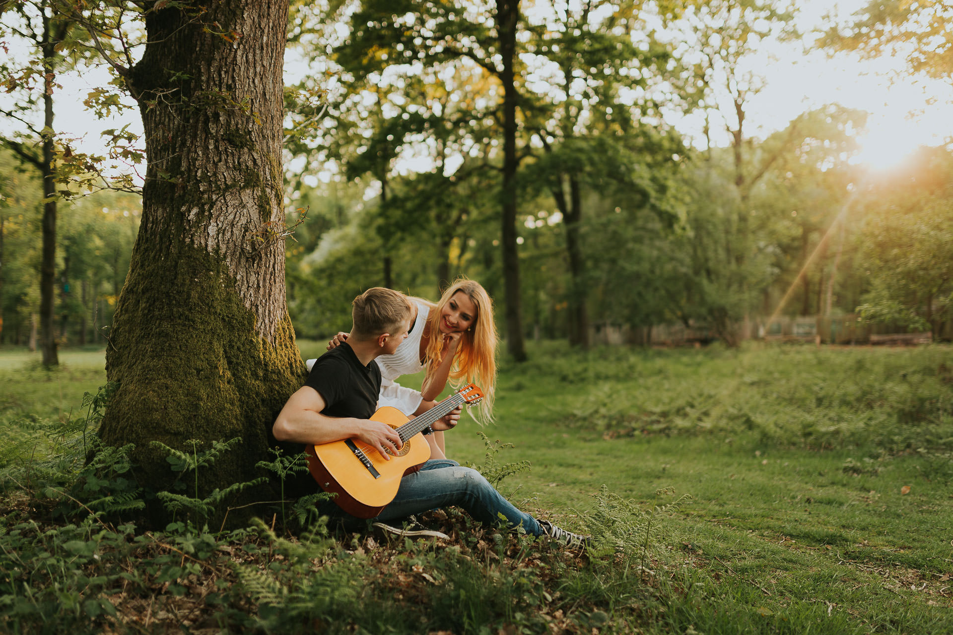 Harewood Forest Engagement Photography Andover Hampshire 19