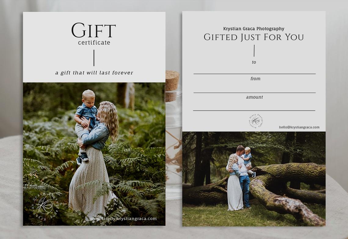 Krystian Gift Certificates Template 3